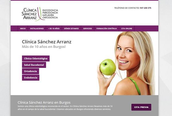 Clínica dental en Burgos, Dra. Sánchez Arranz