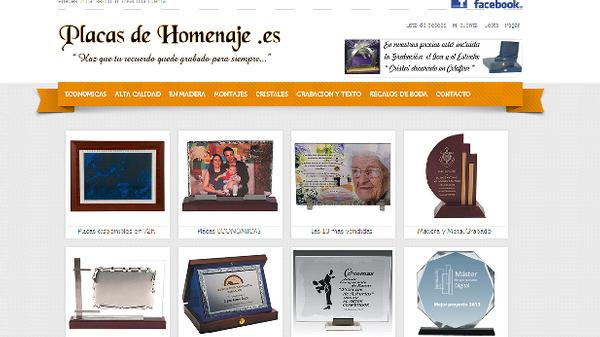 Venta Online de Placas para homenajes
