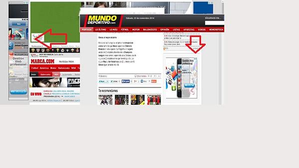 Campañas de publicidad en medios de Internet.