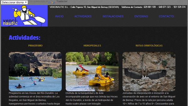 Actividades de turismo activo en las Hoces del Duratón