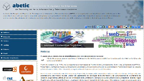 Nueva página web ABETIC