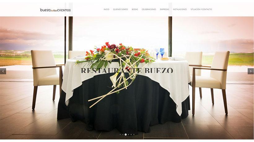 Realización de página web para eventos en Burgos