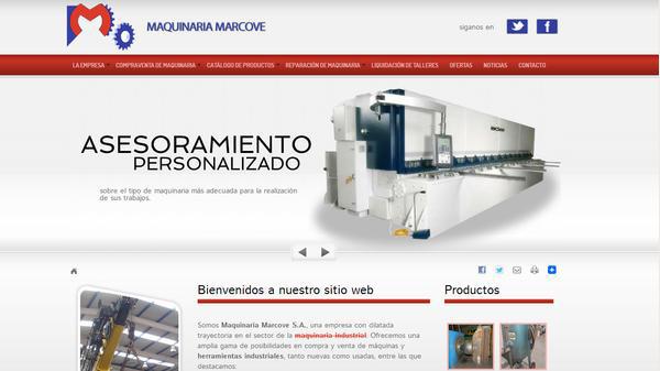 Diseño Web Maquinaria