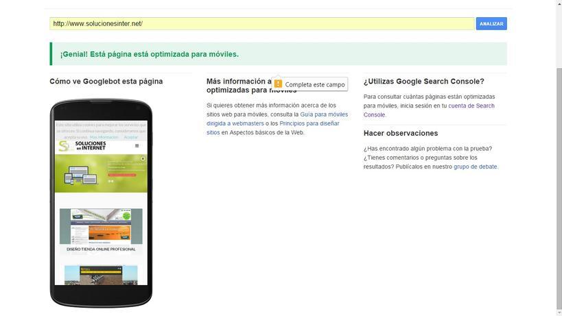 Características de una página web responsive