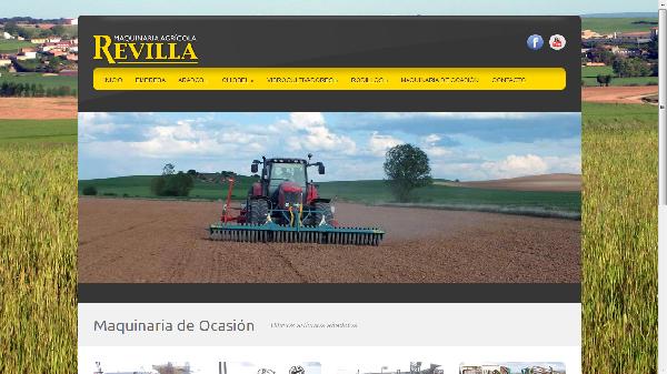 Maquinaria Agrícola Revilla presenta su nueva web