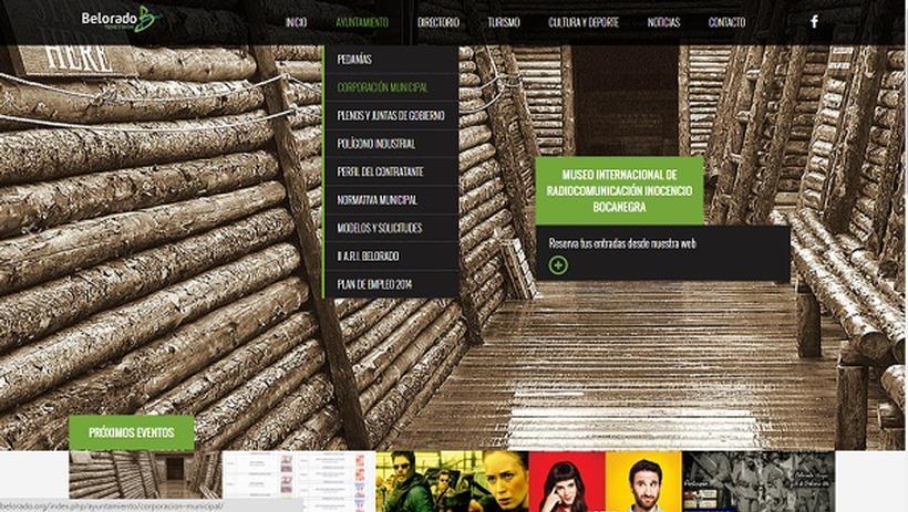 Web para el ayuntamiento de Belorado