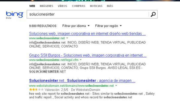 Posicionamiento en buscadores para tu web