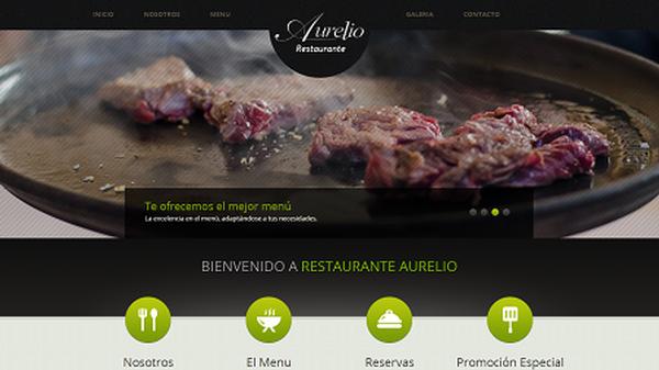Restaurante Aurelio, reserva mesa desde su web
