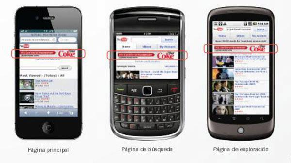 Tipos de anuncios para móviles